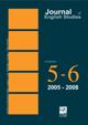 Journal of English Studies, 5-6 (2005-2008)